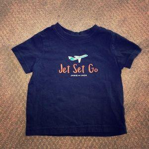 """Janie and Jack """"Jet Set Go"""" T-shirt"""
